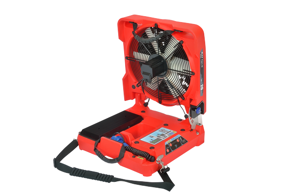 Electric Battery Fan For Firefighting Batfan 2 Back Png