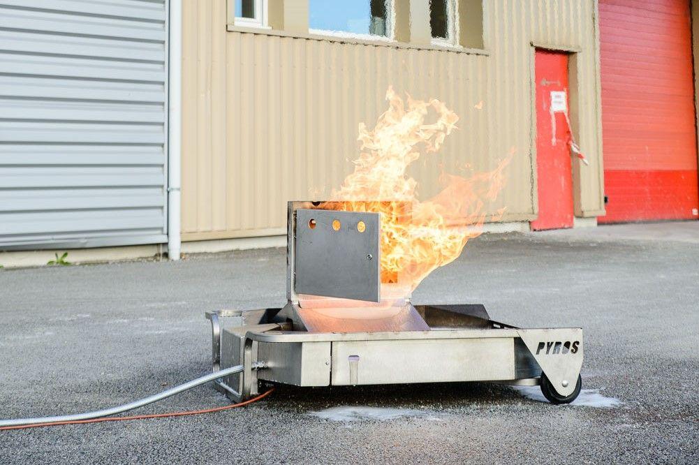 module d 39 entra nement incendie bac feu armoire lectrique. Black Bedroom Furniture Sets. Home Design Ideas